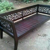 Kursi santai kursi taman TERMURAH dari kayu jati jepara free ongkir