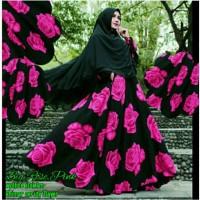 O Big rose Pink 205.000 Maxi bahan wolfis ld 105cm pnjg 140cm lbr bwh