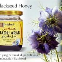 Habbats Black Seed Honey Mesir - Madu Arab Asli 100 % - Madu Jinten
