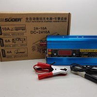 Charger aki 24v 10A SUOER DC-2410A Digital charger / Engine Starts