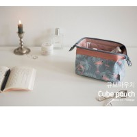 DOMPET KOSMETIK TAS MAKE UP- COSMETIC POUCH TRAVEL ORGANIZER CP05 CUBE