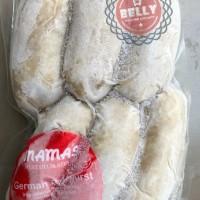 GERMAN BRATWURST SAUSAGE - SOSIS BABI MAMA'S (Pork Sausage-FrozenFood)