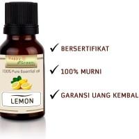 Happy Green Lemon Essential Oil (30 ml) - 100% Minyak Jeruk Lemon