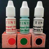 Tinta stempel otomatis tanpa bantal / tinta manis murah