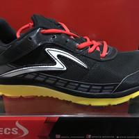 promo sepatu kets sport specs road runner warna hitam kuning ORIGINAL