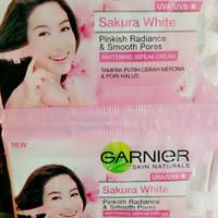 Pelembab cream Garnier Sakura White Sachet