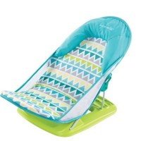 Summer - Deluxe Baby Bather TRIANGLE STRIPE GREEN