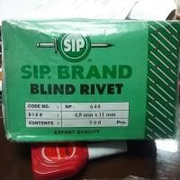 (Dijamin) PAKU RIVET TYPE 640 SIP BRAND / BLIND RIVET