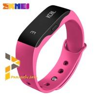 Smart watch Smartband SKMEI L28T Original bukan Xiaomi Mi Band PINK