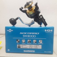 Reel SHIMANO SOCORRO 8000 SW (Garansi RESMI Shimano)
