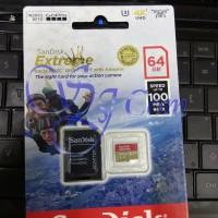 SANDISK EXTREME MICRO SDXC 64GB 100MB/S - MICROSD EXTREME 64GB 100MBPS