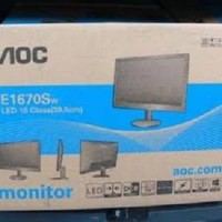 (Sale) Monitor LED AOC 15.6 inch E1670Sw