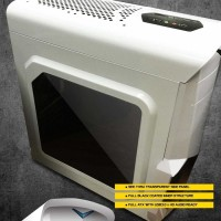 (Diskon) Casing Armaggeddon Vulcan V1x Gaming Pc (White)