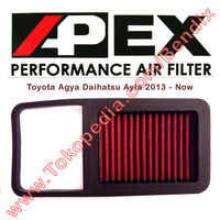 Filter Udara Ayla dan Agya 2013-Now Apex Racing Filter