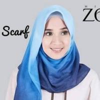 Nyaman adem Zoya Ombre Kerudung / Jilbab/ Scarf / Syal tidak merayang