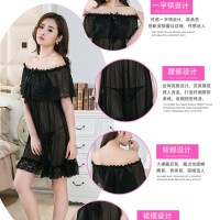 Lingerie Sabrina Pakaian Dalam Seserahan 71811125 Black