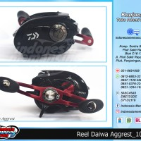 Reel Baitcasting DAIWA NEW AGGREST 9BB - 100HL (Handle Kiri)