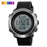 Jam Tangan Digital Pria Size Small SKMEI 1267 Water Resistant - Black