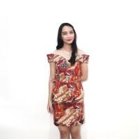 Dress Batik Sabrina / Dress Sabrina Murah / Dress Batik Murah - P1437