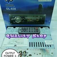 (Diskon) tape mobil singledin OWL 838 usb sd dan radio (best seller)