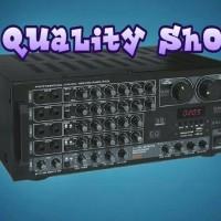 (Sale) Power mixer 6 channel plus prosesor 1008 bluetooh usb