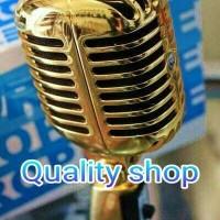 (Dijamin) microphone shure 55SH clasic (gold edition)