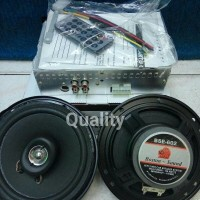 (Murah) paket tape centrum + speaker 6 boston