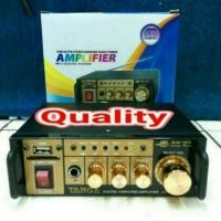 (Dijamin) ampli mini targa usb sd dan karaoke ac/dc