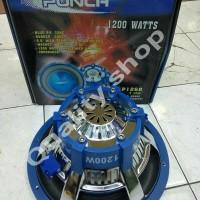 (Dijamin) subwoofer thepunch 1268 original 1200 watt doublecoil