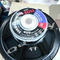 (Sale) subwofer 15 inch americanboss doublecoil 400 watt murni