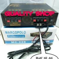 (Diskon) amplifier walet 2 player 4 channel marcopolo mc-228