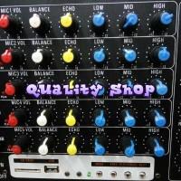 (Dijamin) POWER MIXER PROFESIONAL AUDIO SEVEN 5,1 output sub pasif