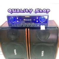 targa bn-302 soundsystem home karaoke set system targa usb sd radio