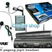 (Diskon) mic wirelles shure UT42ii (handle + clip on + headset)
