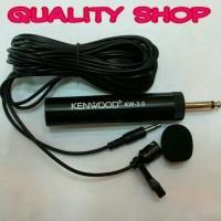 (Sale) mic clip on kenwood kw 3,0 suara peka dan sensitif