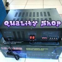 (Dijamin) power mixer bluetooh LD-369B usb sd equalizer