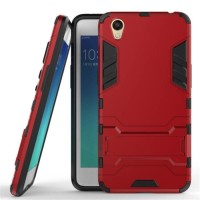 OPPO NEO 9 A37 case casing robot ironman slim armor silikon stand neo9