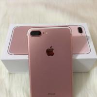 IPHONE 7 PLUS ROSE GOLD 32GB SECOND FULLSET - EX. INTERNATIONAL
