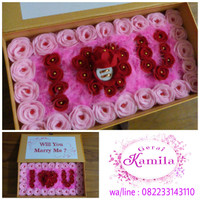 kotak cincin wedding ring box kado nikah / tunangan / lamaran