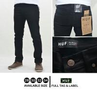 celana panjang jeans hitam pekat naomi