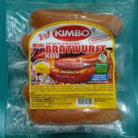 Sosis Kimbo Bratwurst Keju 10 pcs