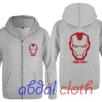 Jaket Sweater The Avengers IRON MAN - Misty