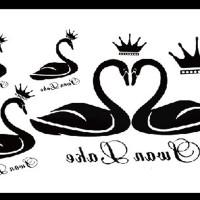 Tato/Tatto temporary/Tatto kecil/ Tatto angsa 10.5x6 cm X-539