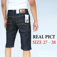 Celana Jeans Levis Pria Pendek Denim Stretch size 27 - 38