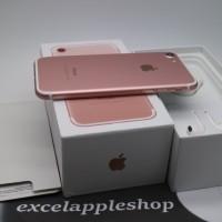 iphone 7 128GB rosegold second fullset