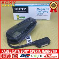 Kabel Data Usb Sony Xperia Z3 Z3 Mini Original 100% Magnetik