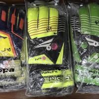 Promo Sarung Tangan Kiper Tulang Kappa Penalty Tebal Import Murah