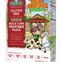 Orgran Gluten Free Farm Animals Rice & Corn Vegetable Pasta 200 gr