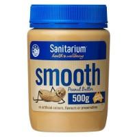 selai sanitarium smooth peanut butter 500g