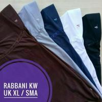 Jilbab Rabbani KW size XL SMA